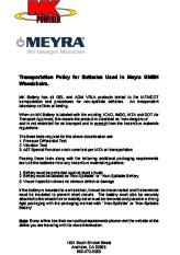 MEYRA - MK Battery certificate