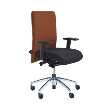 Modern office swivel chair with intervertebral-disc and arthrodesis support seat MODEL 1.200