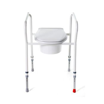 Toilet aid for people with hip problems