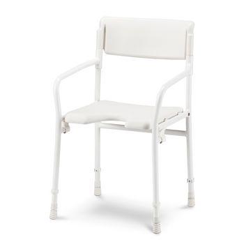 DuBaStar shower chair with backrest, foldable